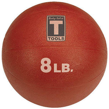 Body Solid Tools BSTMB8 8 lb. Red Medicine Ball