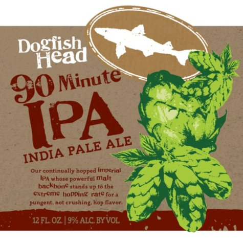 Dogfish Head 90 Minute IPA (16 fl. oz. can, 4 pk.)