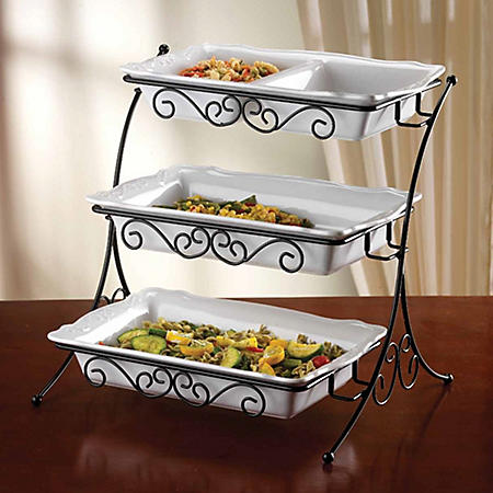 Adjustable Buffet Server