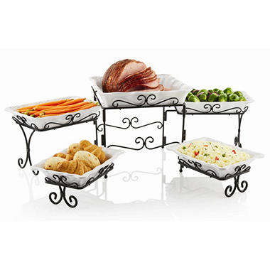 5 Tier Buffet Server