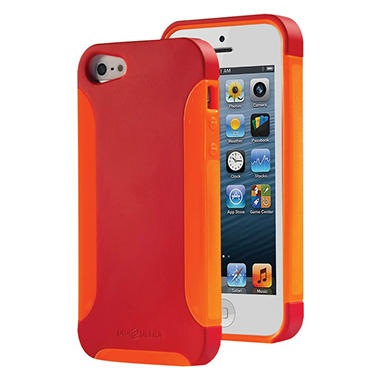 DBA Cases Ultra Complete Case for iPhone 5 - Poppy/Tangerine
