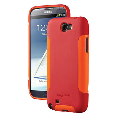 DBA Cases Complete Ultra Case for Samsung Galaxy Note II - Poppy/Tangerine