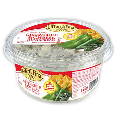 La Terra Fina Spicy Green Chile and Cheese Dip and Spread (24 oz.)