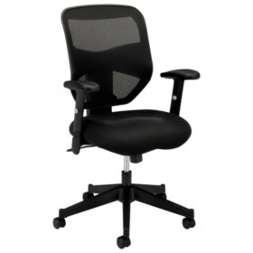 Basyx Vl531 High Back Work Chair Black
