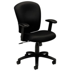 Basyx By Hon Vl220 Mid Back Task Chair Black