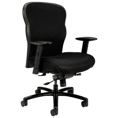 Basyx VL705 Series Big U0026 Tall Mesh Chair, Black