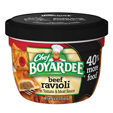 Chef Boyardee Big Micro Ravioli - 14.5 oz. Cup - 12 ct.