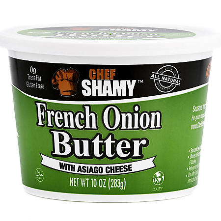 Chef Shamy Gourmet French Onion Butter with Asiago Cheese (10 oz.)