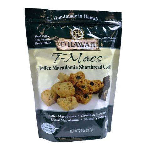 O Hawaii T-Macs Assorted Macadamia Shortbread (20 oz.)