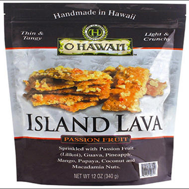 O Hawai'i Island Lava Passion Fruit Brittle (12 oz.)