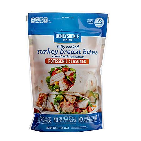 Honeysuckle White Rotisserie Seasoned Turkey Breast Bites (18 oz.)