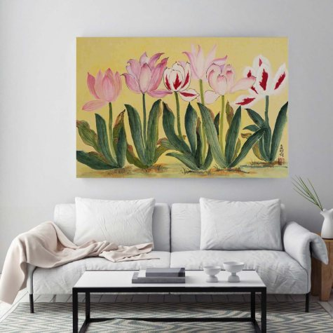 "Tulips Canvas Wall Art, 24"" x 36"""