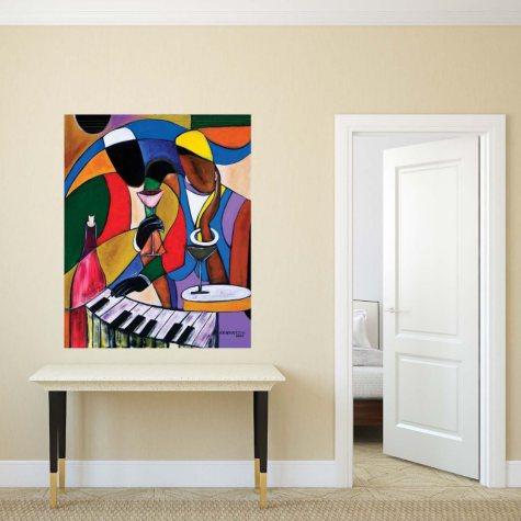 """Jazz Jams II Canvas Wall Art, 20"""" x 26"""""""