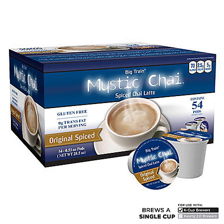 MYSTIC CHAI SS CUP SPCIED CHAI 54 CT