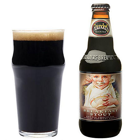 Founders Breakfast Stout (12 fl. oz. bottle, 4 pk.)