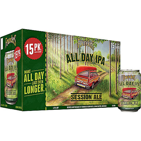 Founders All Day IPA (12 fl. oz. can, 15 pk.)