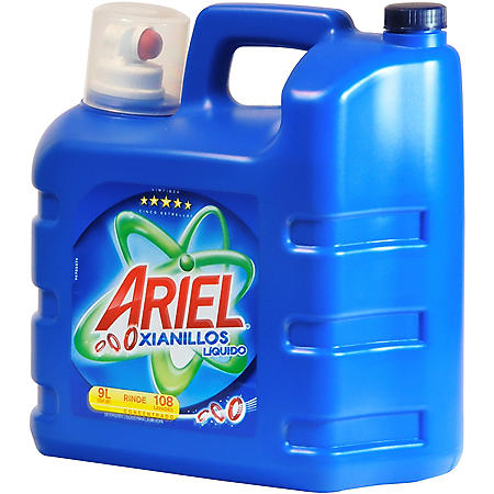 Ariel Hidrogel Liquid Detergent - 9L (304 oz) - 108 loads
