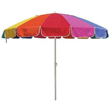 Rainbow Beach Umbrella 8 Ft