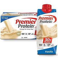 12 Pack Premier Protein High Protein Shake 11 fl. oz.(Vanilla)