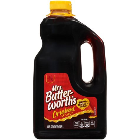 Mrs. Butterworth's® Original Syrup (64 oz., 2 pk.)