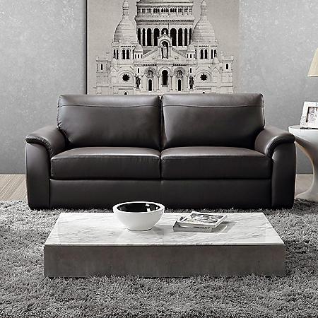 Montclair Top-Grain Leather Sofa