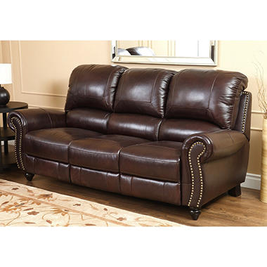 Beau Taylor Top Grain Leather Sofa