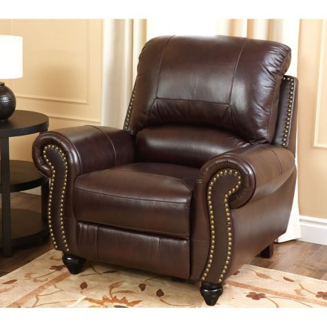 Taylor Top-Grain Leather Recliner