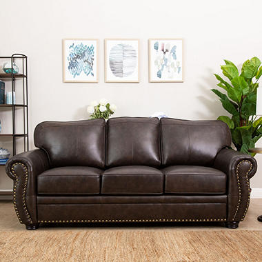 Sophie Top Grain Leather Sofa