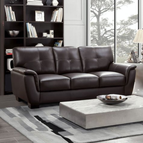 Liston Top-Grain Leather Sofa