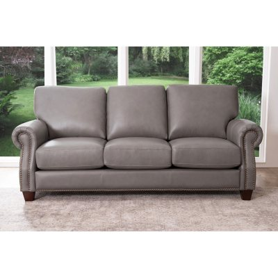 Charmant Helena Top Grain Leather Sofa