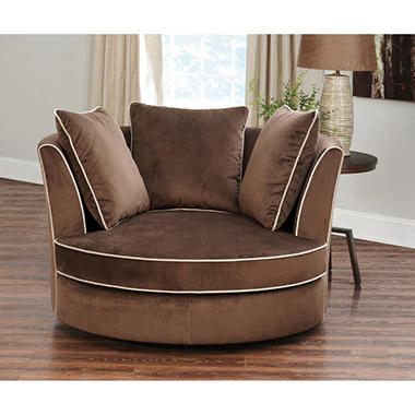 Good Sydney Round Swivel Chair