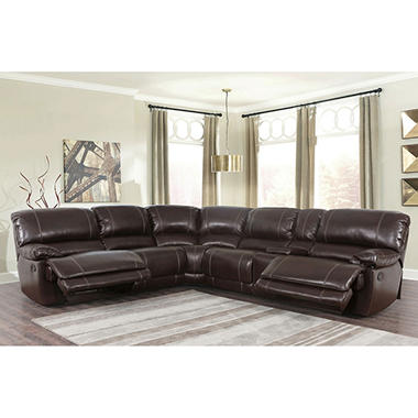 Maril Reclining 3 Piece Sectional Sofa