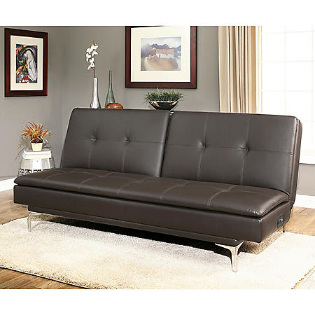 vienna convertible sofa with usb power ports sam s club rh samsclub com