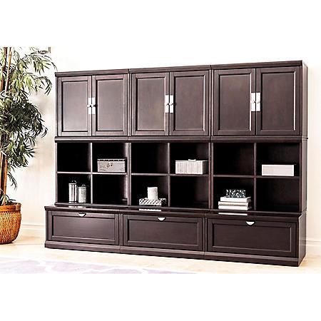 Belmont 9-Piece Modular Wall Storage Unit