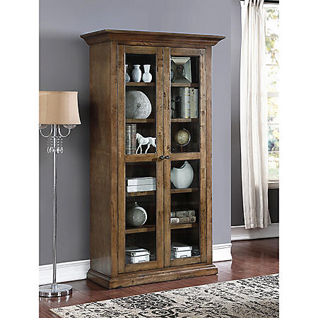 Adler Glass Bookcase