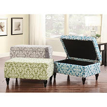 Isabella Ottoman (Assorted Colors)