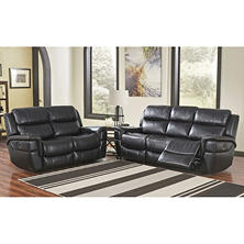 Maxwell Power-Reclining Sofa and Loveseat