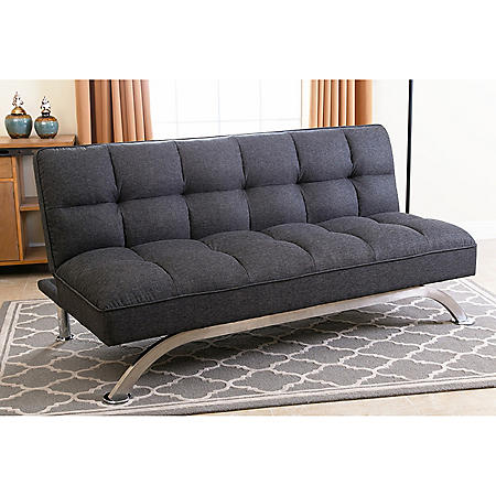 Belize Gray Click Clack Futon Sofa Bed Sam S Club