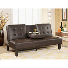 Wynn Brown Futon Sofa Bed