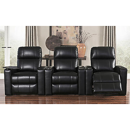 TRAVIS THEATER 3PC HOME THEATER SEATING