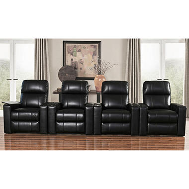 TRAVIS THEATER 4PC HOME THEATER SEATING