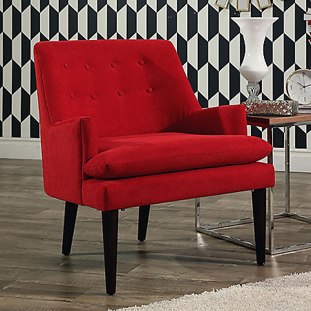 Crystal Mid-Century Accent Chair (Assorted Colors)