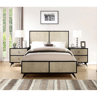 . Encore Mid Century Bedroom Furniture Set  Assorted Sizes    Sam s Club