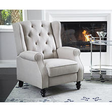 Member's Mark Sydney Pushback Fabric Recliner