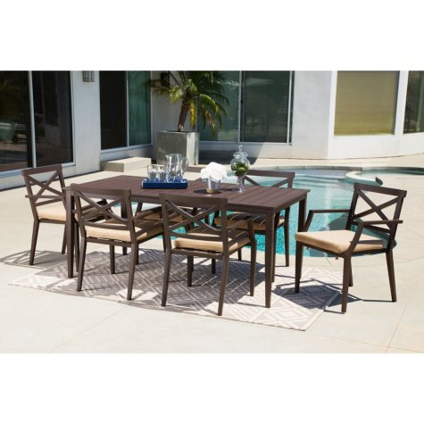 Capri 7-Piece Dining set