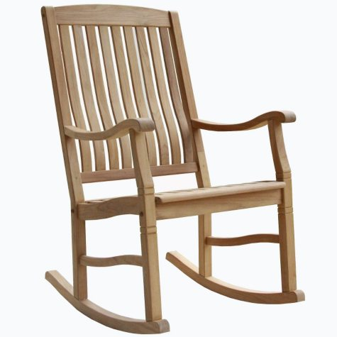 Teak Rocking Chair(Club Pick-Up)