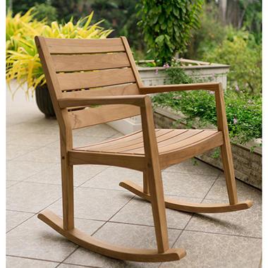 Madison Collection Teak Rocking Chair