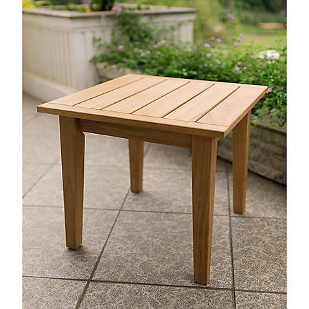 Madison Teak Side Table