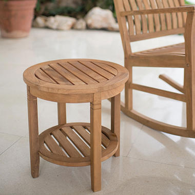 Teak Side Table Sams Club - Teak high top table and chairs