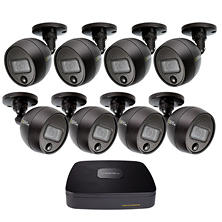 Q-See 8-Channel 1080p HD Security System with 1TB Hard Drive, 8 1080p Bullet Cameras, and 80' Night Vision